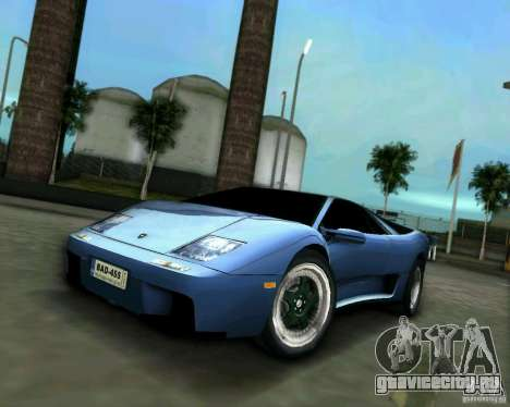 Lamborghini Diablo для GTA Vice City