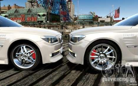 Меню и экраны загрузки BMW HAMANN в GTA 4 для GTA San Andreas десятый скриншот
