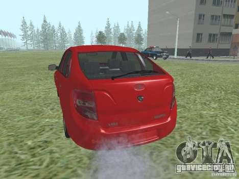 ВАЗ 2192 для GTA San Andreas вид справа