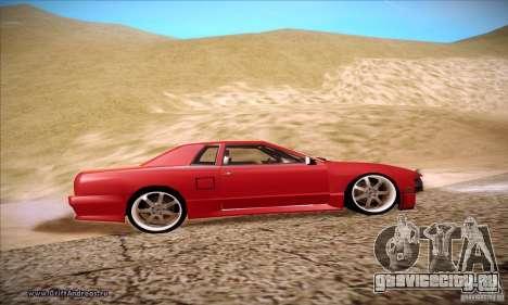Elegy 180SX для GTA San Andreas вид сзади