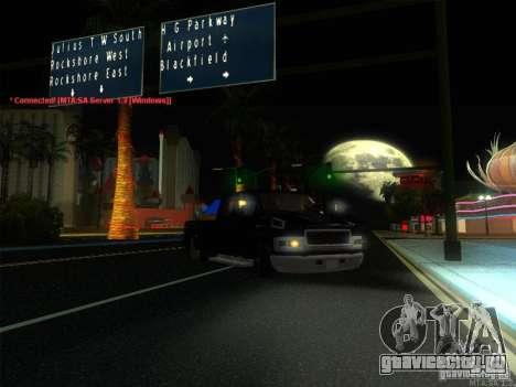 GMC C4500 Pickup DUB Style для GTA San Andreas вид снизу