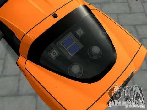 Chevrolet Corvette (C6) для GTA San Andreas вид справа