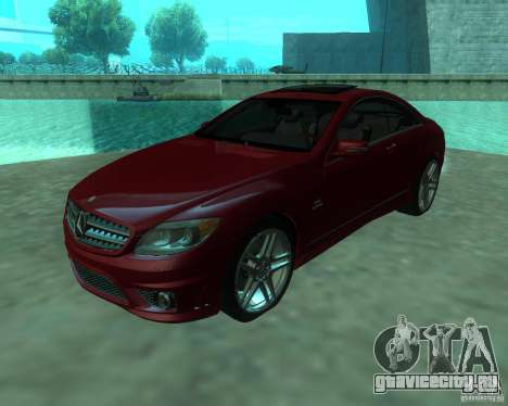 Mercedes-Benz CL65 AMG для GTA San Andreas вид слева