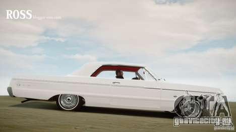 Chevrolet Impala SS 1964 для GTA 4 вид слева