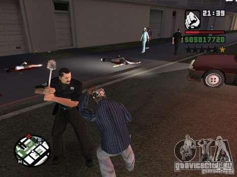 Туалетная Щетка для GTA San Andreas второй скриншот