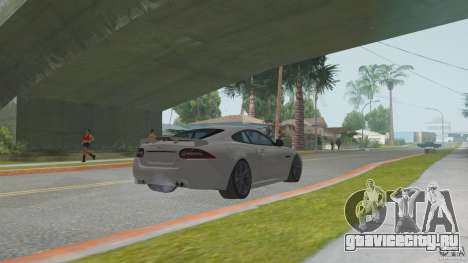 Jaguar XKR-S для GTA San Andreas