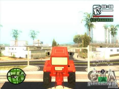 Трактор для GTA San Andreas вид справа