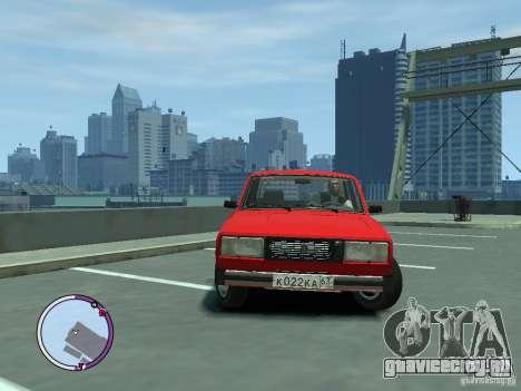 ВАЗ 2105 для GTA 4 вид слева