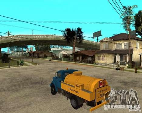 Зил-433362 Extra Pack 2 для GTA San Andreas вид сзади