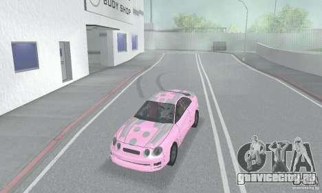 Toyota Celica GT4 2000 для GTA San Andreas вид снизу
