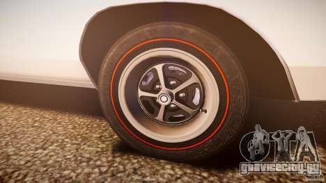 Dodge Charger RT 1969 v1.0 для GTA 4 вид снизу