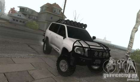 Toyota Land Cruiser 200 Off Road v1.0 для GTA San Andreas