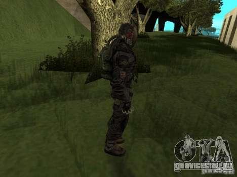 Долговец в костюме для GTA San Andreas четвёртый скриншот