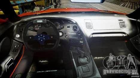Toyota Supra MK4 Tunable v1.0 для GTA 4 вид справа