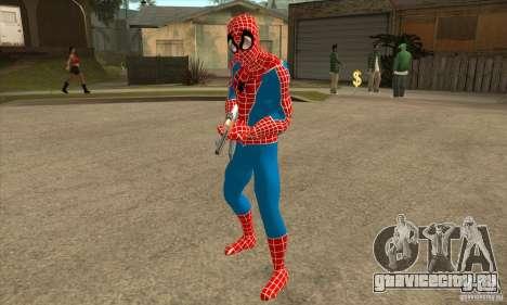 Spider Man From Movie для GTA San Andreas третий скриншот