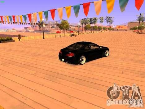 Infiniti G35 V.I.P для GTA San Andreas вид слева