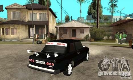 ВАЗ 2101 2-ух дверное купе для GTA San Andreas вид справа