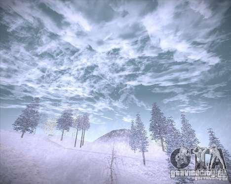 Real Clouds HD для GTA San Andreas шестой скриншот