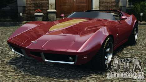 Chevrolet Corvette Sting Ray 1970 Custom для GTA 4