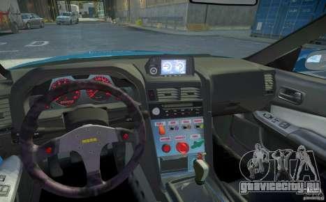 Nissan Skyline GT-R R34 Fast and Furious 4 для GTA 4 вид снизу