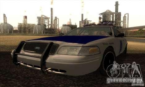 Ford Crown Alabama Police для GTA San Andreas