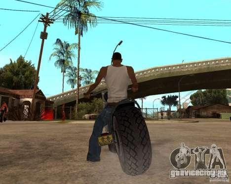Diabolus Bike для GTA San Andreas вид справа