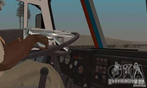 КамАЗ-РИАТ-54112 для GTA San Andreas вид сзади