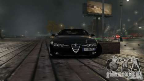 Alfa Romeo Brera Italia Independent 2009 v1.1 для GTA 4 вид сзади слева