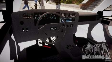 Chevrolet Monza GLS 96 для GTA 4 вид справа