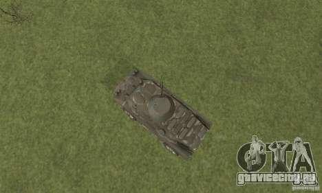 БРДМ-2 Зимний вариант для GTA San Andreas вид сзади
