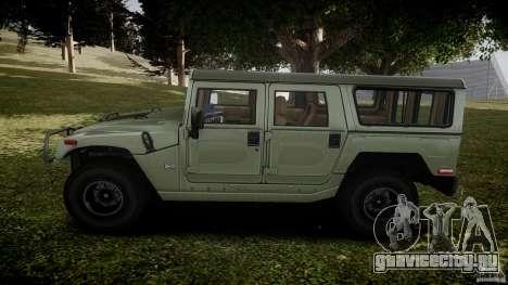 Hummer H1 Original для GTA 4 вид слева
