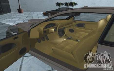 Sentinel из GTA 4 для GTA San Andreas вид сзади