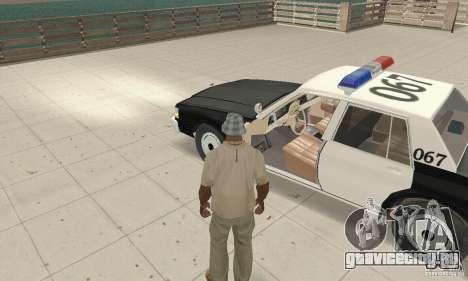 Chevrolet Caprice Interceptor 1986 Police для GTA San Andreas вид сзади