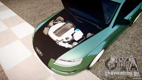 Audi RS6 2009 для GTA 4 вид сзади