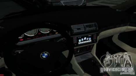 BMW M5 E39 AC Schnitzer Type II v1.0 для GTA 4 вид сбоку
