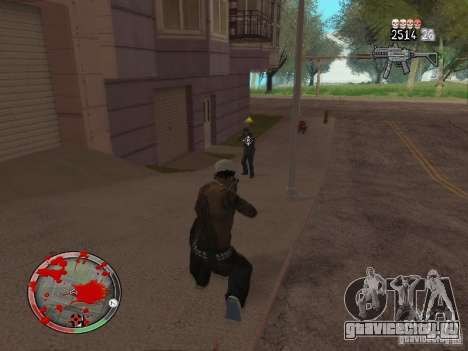 GTA IV HUD v4 by shama123 для GTA San Andreas пятый скриншот