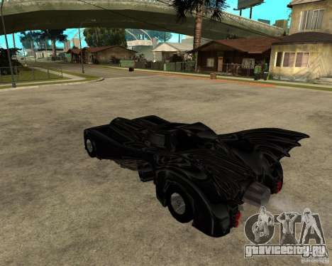 Batmobile для GTA San Andreas вид слева