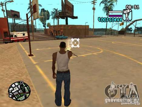 HUD by Hot Shot v2.1 для GTA San Andreas третий скриншот