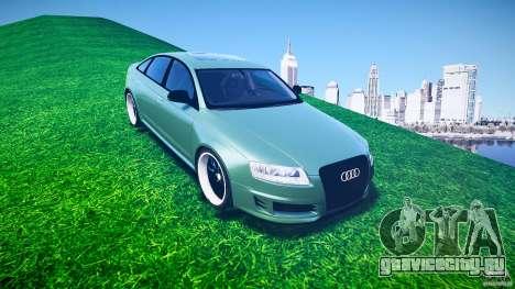 Audi RS6 2009 для GTA 4 вид сбоку