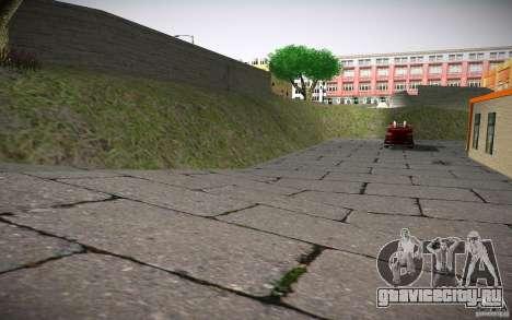 HD пожарная часть для GTA San Andreas шестой скриншот