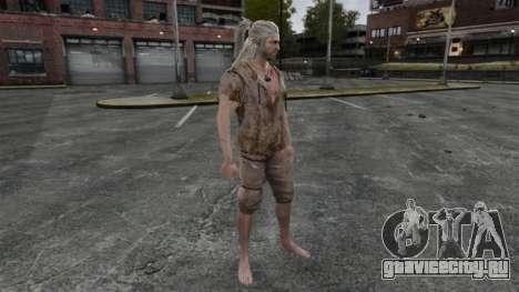 Геральт из Ривии v6 для GTA 4 пятый скриншот