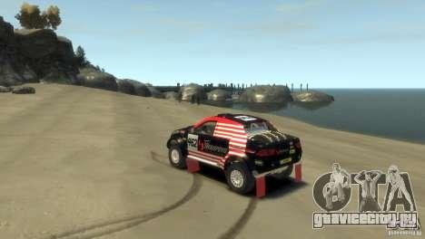 Mitsubishi L200 Rally для GTA 4 вид слева