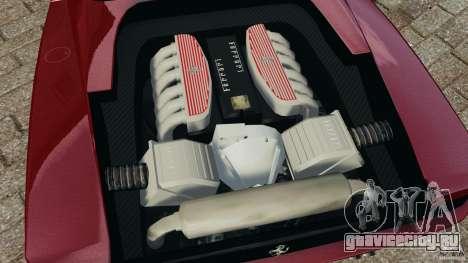 Ferrari Testarossa Spider custom v1.0 для GTA 4 вид изнутри