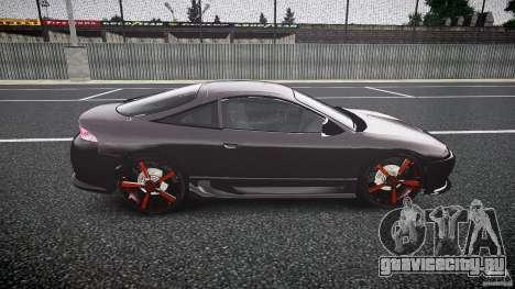 Mitsubishi Eclipse Tuning 1999 для GTA 4 вид сзади