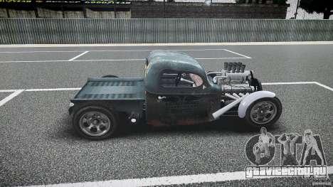 Ford Ratrod 1936 для GTA 4 вид слева