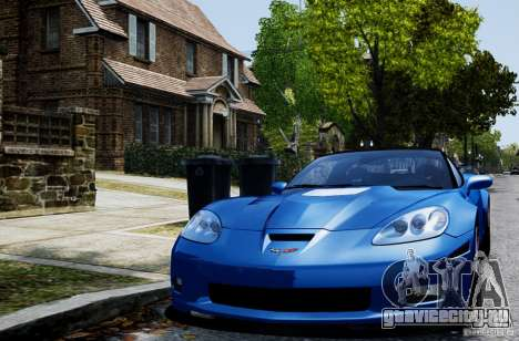 Chevrolet Corvette ZR1 для GTA 4 вид слева