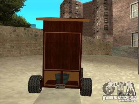 Holy Pooper (Занято) для GTA San Andreas вид справа