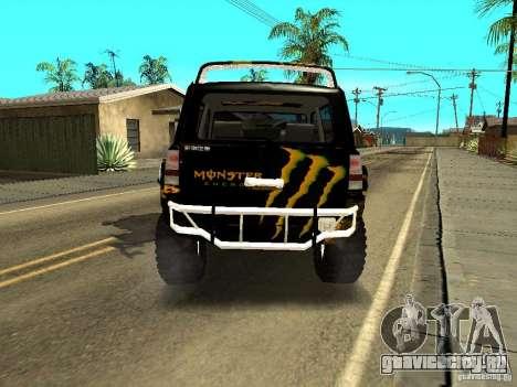 Scion xB OffRoad для GTA San Andreas вид сзади слева