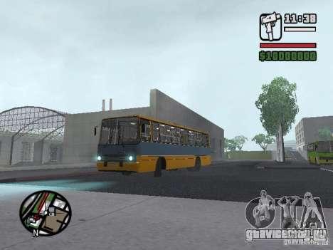 Ikarus 263 для GTA San Andreas вид слева