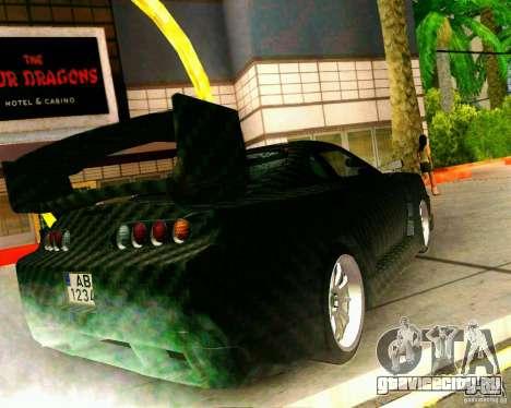 Toyota Supra Carbon для GTA San Andreas вид слева